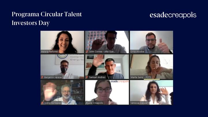 Las startups aceleradas por el Programa Circular Talent presentan sus proyectos en el Investors Day