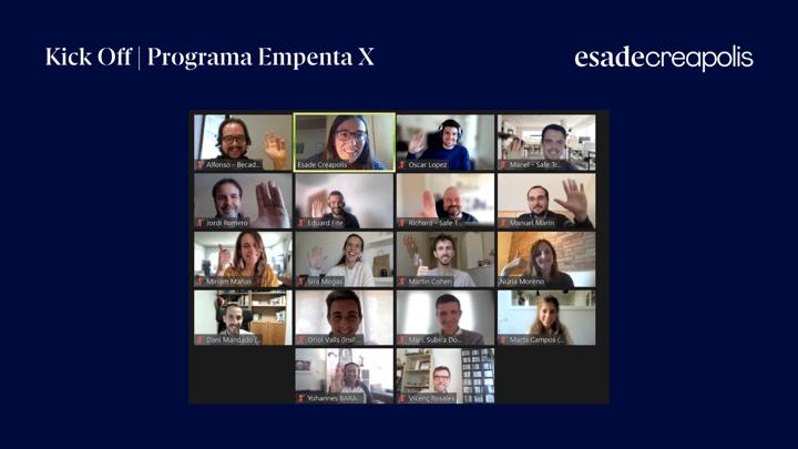 ¡Empezamos el Programa Empenta X con las 10 startups seleccionadas!