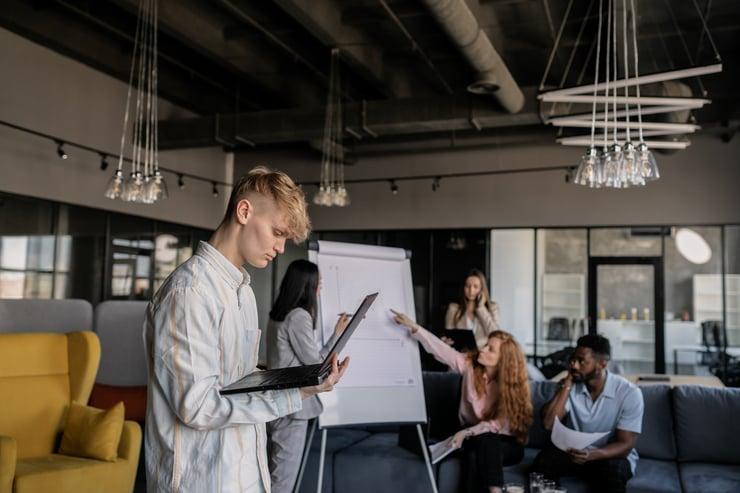 Innovadores, startups y emprendedores
